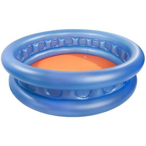 Banheira Inflável Infantil 480 Litros Nautika Azul