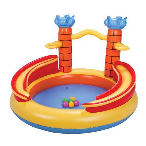Banheira Inflável MOR 170 Litros Playground Castelo 001920