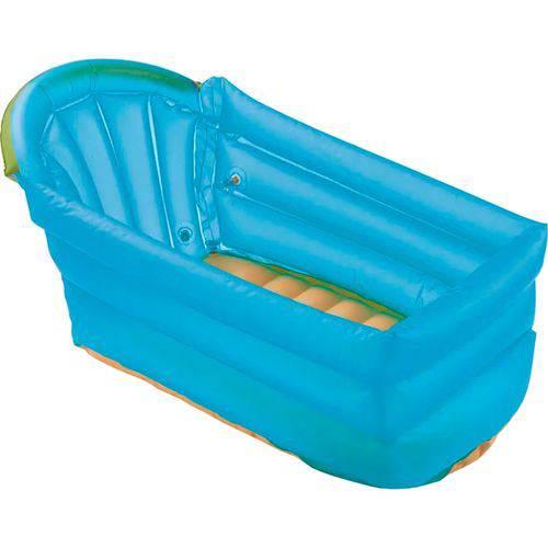 Banheira Inflável Multikids Baby Bath Buddy - Azul