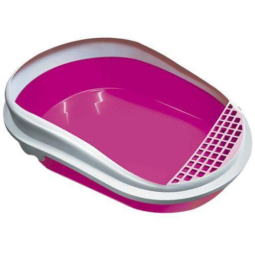 Banheira para Gatos Furacão Pet Smart com Arco Rosa