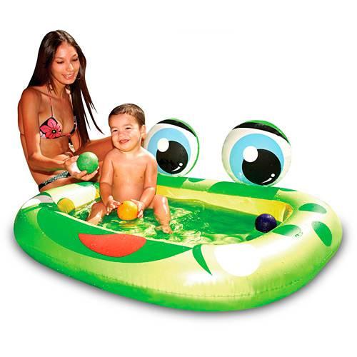 Banheira para Piscina Inflável Sapinho 65 Litros - Mor