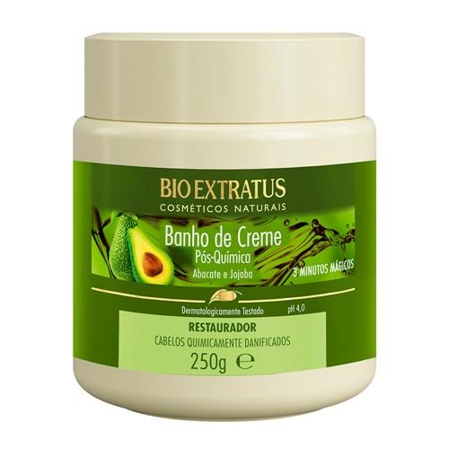 Banho de Creme Bio Extratus Pós Química com 250g