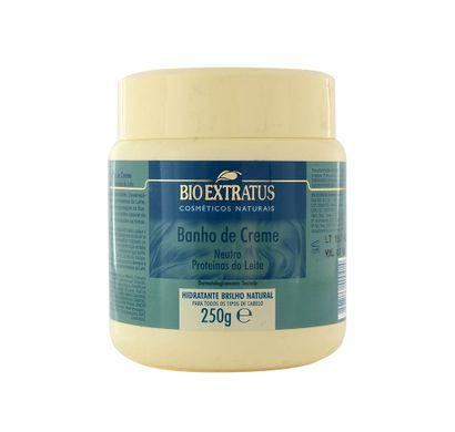 Banho de Creme Neutro Proteínas do Leite 250g - Bio Extratus
