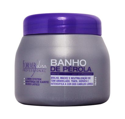 Banho de Pérola Blond 250g - Forever Liss