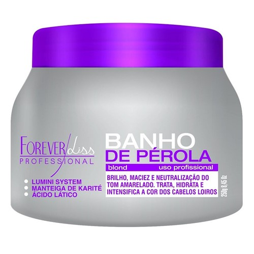 Banho de Pérola Loiro Radiante Forever Liss 250gr