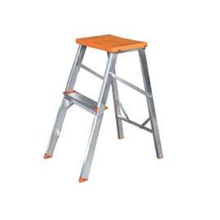 Banqueta Escada Aluminio - 2 Degraus - Tools 002