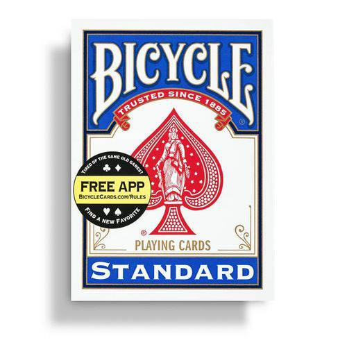 Baralho Bicycle Standard Azul