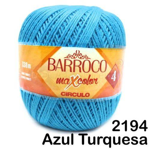 Barbante Barroco Maxcolor Círculo Nº4 200g -Cor: 2194