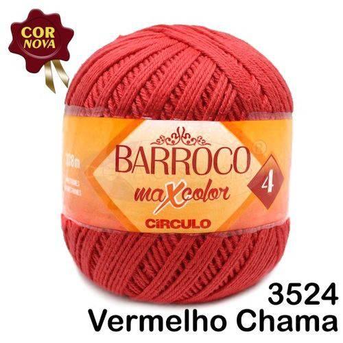 Barbante Barroco Maxcolor Círculo Nº4 200g -Cor: 3524