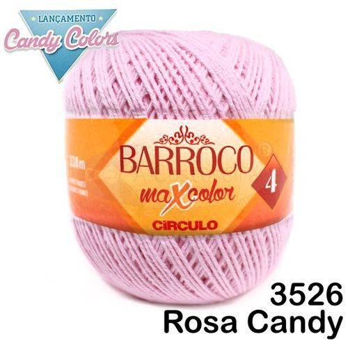Barbante Barroco Maxcolor Círculo Nº4 200g -Cor: 3526