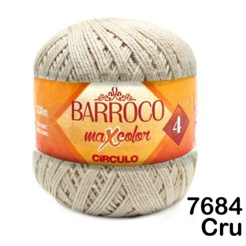 Barbante Barroco Maxcolor Círculo Nº4 200g -Cor: 7684