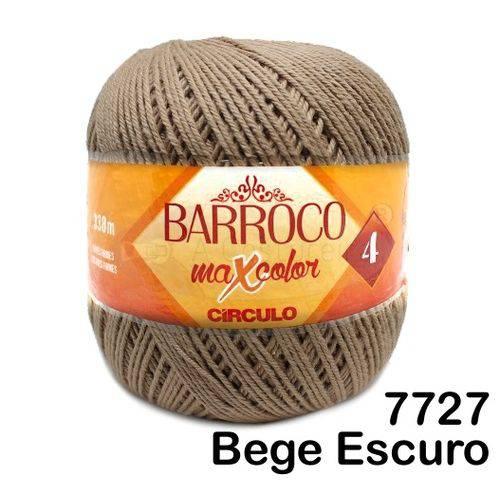 Barbante Barroco Maxcolor Círculo Nº4 200g -Cor: 7727