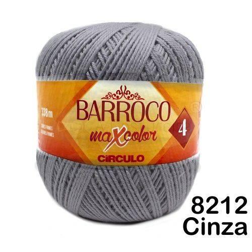 Barbante Barroco Maxcolor Círculo Nº4 200g -Cor: 8212