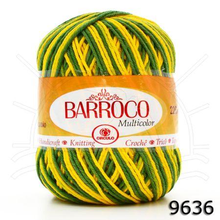 Barbante Barroco Multicolor 200g 9636 - Brasil