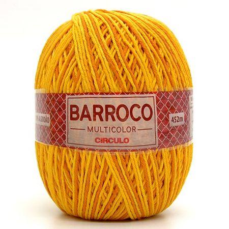 Barbante Barroco Multicolor 400g 9433 Abacaxi