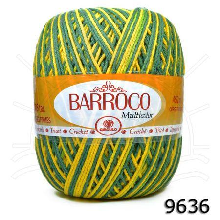 Barbante Barroco Multicolor 400g - 9636 Brasil