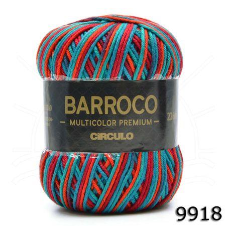 Barbante Barroco Multicolor Premium 200g - Cores 2019 9918 Bahamas