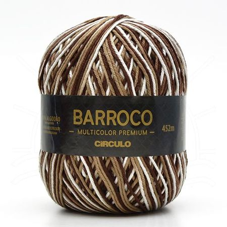 Barbante Barroco Multicolor Premium 400g 9687 Caravela
