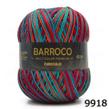 Barbante Barroco Multicolor Premium 400g - Cores 2019 9918 Bahamas