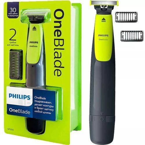 Barbeador Aparador Elétrico Philips One Blade QP2510/10