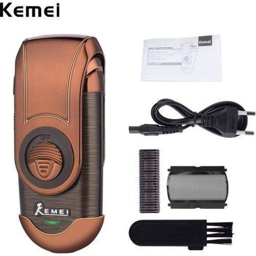 Barbeador Elétrico Máquina Kemei Shaver Km-q788