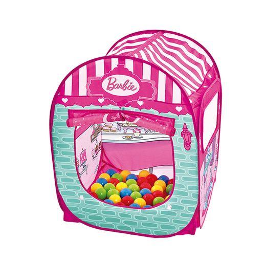 Barbie Barraca Infantil com 50 Bolinhas - Fun Divirta-se