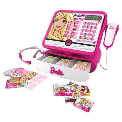 Barbie Caixa Registradora Luxo - Fun