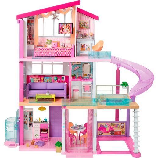 Barbie Casa dos Sonhos com Escorregador - Mattel