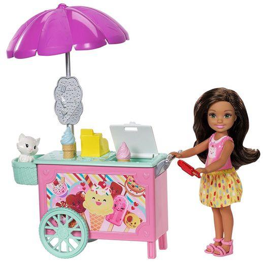 Barbie Club Chelsea Carrinho de Sorvete - Mattel