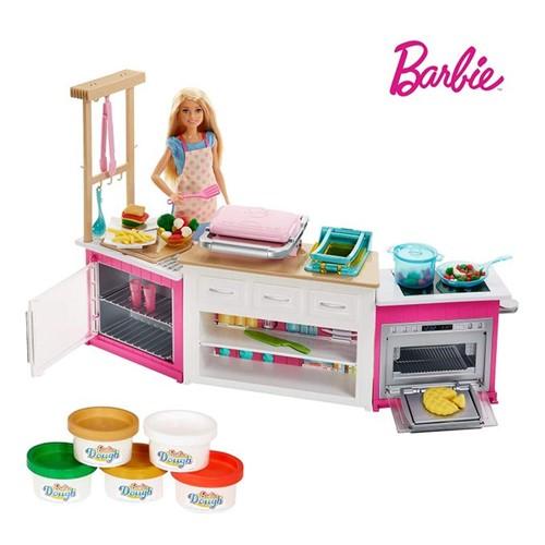 Barbie - Cozinha de Luxo Frh73 - MATTEL