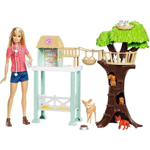 Barbie - Cuidadora dos Bichinhos