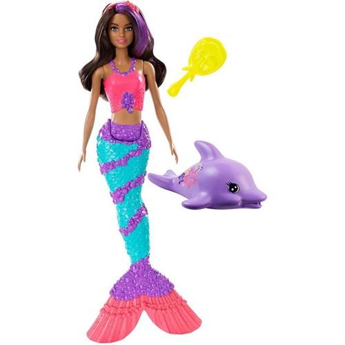 Barbie Dreamhouse Adventures - Sereia Morena Ggg59 - MATTEL