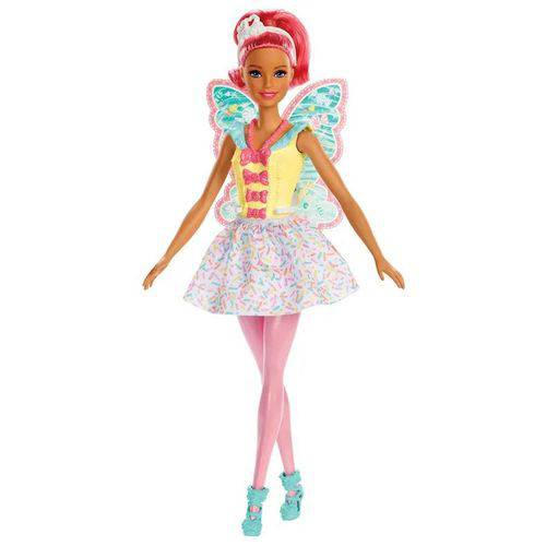 Barbie Dreamtopia - Fadas - Rosa - Mattel