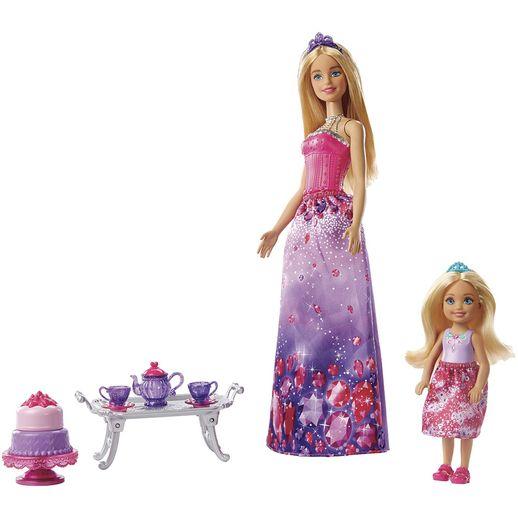 Barbie e Chelsea Hora do Chá - Mattel