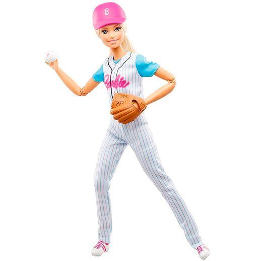 Barbie Esportista Jogadora de Baseball - Mattel