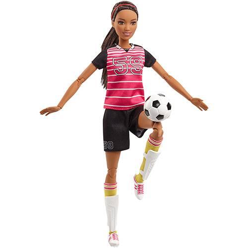 Barbie Esportistas Jogadora de Futebol Amiga - Mattel