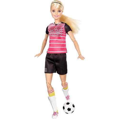 Barbie Esportistas Jogadora de Futebol - Mattel