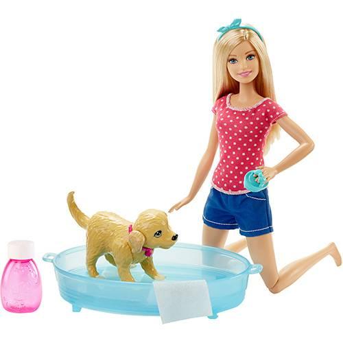 Barbie Família Cachorrinho Banho - Mattel