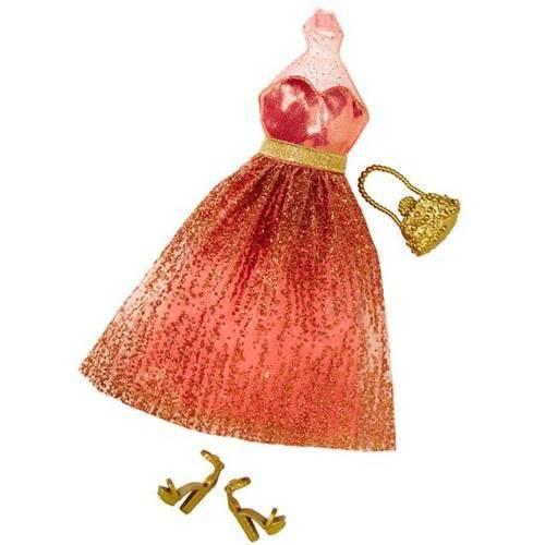 Barbie Fashion Fever Vestido Champagne
