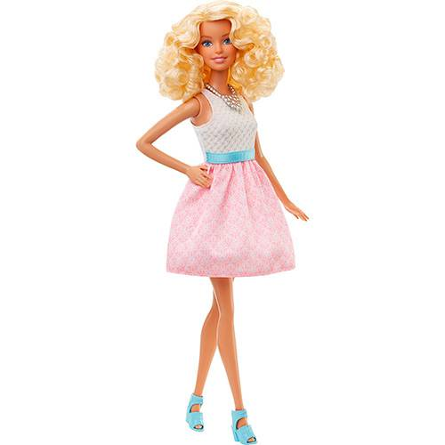 Barbie Fashionistas Powder Pink - Mattel