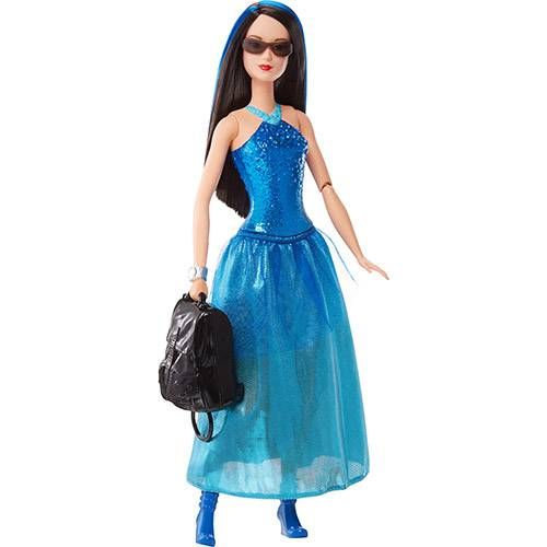 Barbie Filme Amigas Agentes Disfarce Azul - Mattel