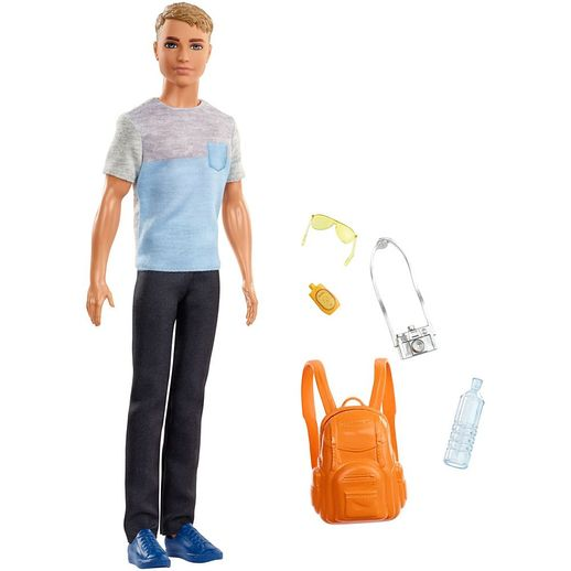 Barbie Ken Conjunto de Viagem - Mattel