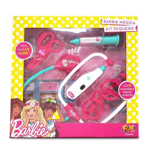 Barbie Kit Médica Pequeno com Termômetro - Fun Divira-se