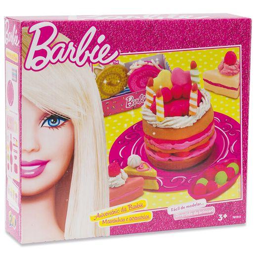 Barbie - Massinha Aniversário da Barbie - Fun Divirta-se