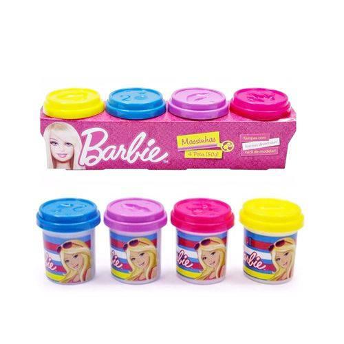 Barbie Massinha com 4 Potes 50g - Fun