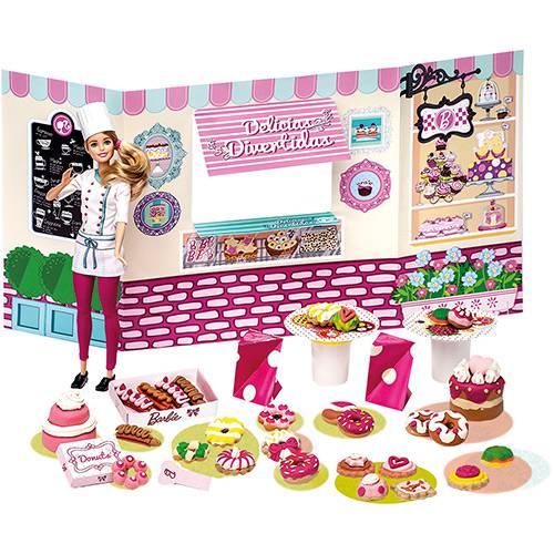 Barbie Massinha Food Truck Doceria e Delicias Divertidas - Barbie
