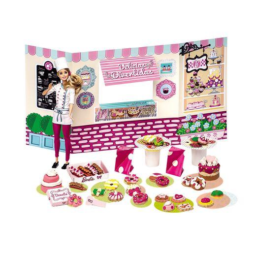 Barbie Massinha Food Truck Doceria e Delícias - Fun Divirta-se