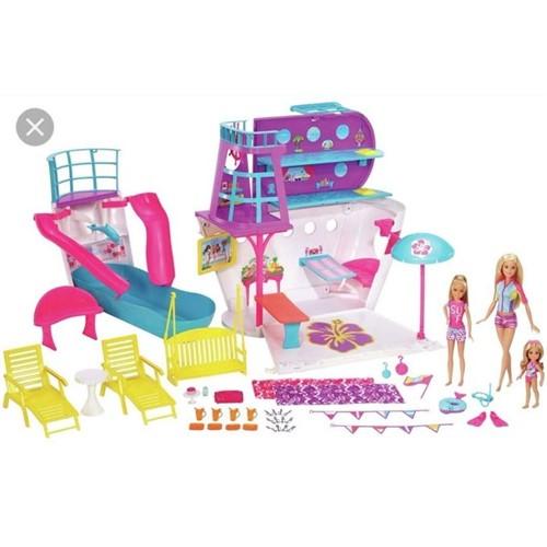 Barbie - Navio Cruzeiro da Barbie Fhw46 - MATTEL
