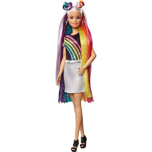 Barbie Penteados de Arco-Iris Fxn96 - Mattel