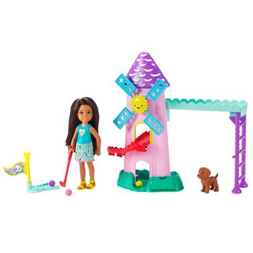 Barbie Playset Chelsea Mini Golf - Mattel
